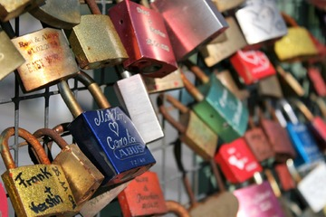 Long Distance Relationship Locks