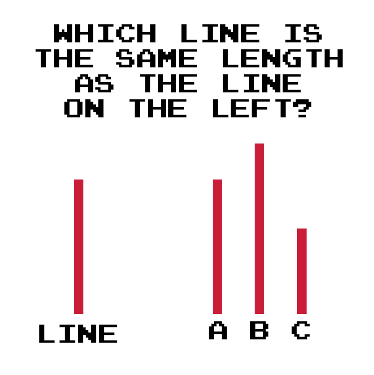 Asch Line Study Example